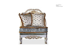European classic wood living room furniture Hand carved sofa set Rococo style sectional sofa set