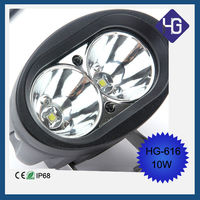 12v 24V 1pcs x 10W Crees Led Offroad work light fog light spot / flood beam 10w led working light