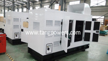 cold used 100KVA super silent diesel generator set with USA euro engine