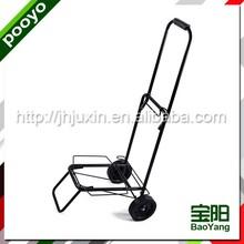 foldable metal power coating foldable luggage cart/luggage trolley 55ZP