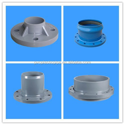 2015 DIN Standard UPVC Pipe Flexible Flange Coupling Made in China with Good Price