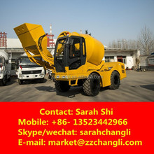 Hot Sale! 3CBM Mobile Concrete Batching Plant with Loader