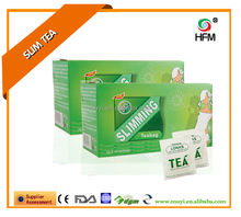 Natural green tea bag effect loss weight product herbal slimming product