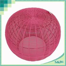 waterproof pumpkin shape fashion style round stool fo routdoor indoor use