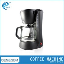 Competitive New Home Use Wholesale 0.6L Drip Coffee Maker