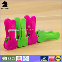 LOVELY LOVE SHAPE CARTOON PP PLASTIC CLOTHES PEGS