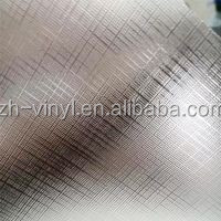 Crossed pattern cold laminating film