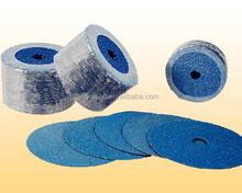 High quality abrasive Zirconia Alumina fiber disc,fiber sanding disc