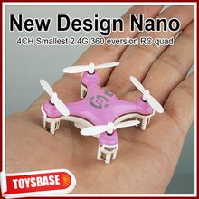 4CM Cheerson 4CH UFO 3D Rotating Micro 2.4G 6-Axis RC Mini Quadcopter CX-10 flying cat toy