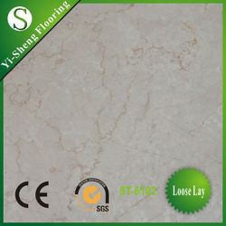 Factory direct selling glueless vinyl floor tile polish