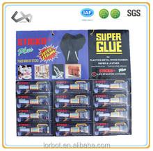 factory price for 502 best super glue in aluminum tube