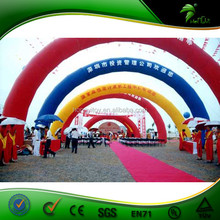 Inflatable arch entrance gate / inflatable display arch