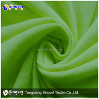 Fashion new design single jersey fabric spandex stretch single jersey knit fabric wholesale