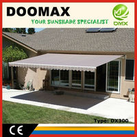 #DX300 Aluminum Frame Auto Awning and Louver