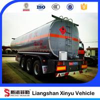 Oil tank fuel tanker, dolly semi-trailer,semi trailerOil tank semi trailer