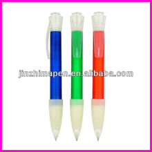 Big clip for logo printing merchandising pen