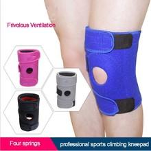 Adjustable Sports Leg Knee Support Brace Wrap Basketball Protector Knee Pad