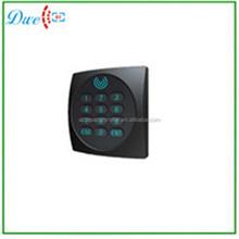 IP64 13.56mhz WG34 Waterproof MF access control rfid blacklight keyborad pin reader