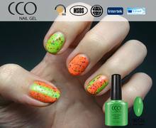 CCO perfume nail polish 7.3 ML 183 colors and high quality for soak off uv gel nail polish for plain , soak off color gel polish