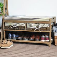 antique wooden indoor bench,storage stool