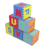 Kids Puzzle Alphabet and Numbers 36 Tiles with Edges Play Mat