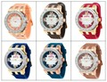 Silicone relógios próprio logotipo, silicone relógios baratos da china ebay