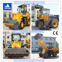 road and building construction equipment, 2.5 ton front end loader good quality low price