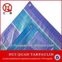 waterproof camping tarps PE tarpaulin silpaulin