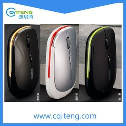 Cheap USB Optical 2.4G Slim Mouse Wireless for Laptop or Macbook