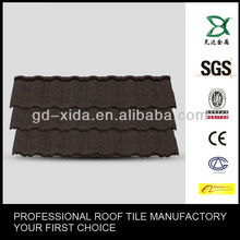 Light Weighted Colorful Stone Coated Metal Roofing Tile---interlocking