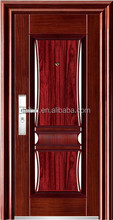 decorative door polished surface steel doors insert