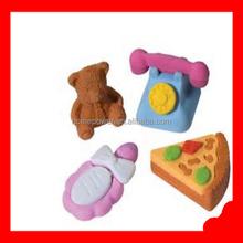 2015 hot sale cute shape Animal shape Eraser