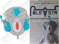 custom design robot mascot head NO.4452