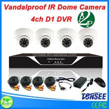 digital slr camera kits 4CH DVR cctv system