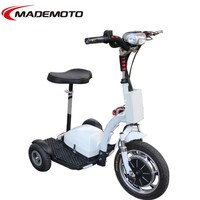 Hot Sale Cheap 500W 3 Wheel Zappy Electric Scooter for Adult