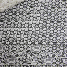 Fancy austrian embroidery designs flower lace / Good quality african 100% cotton embroidery lace fabric for garment