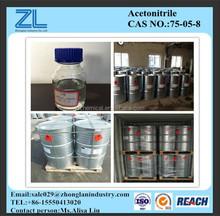 Acetonitrile HPLC grado con una alta pureza