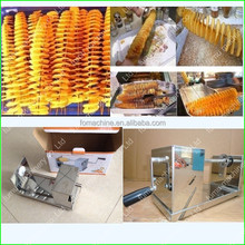 manual high quality stainless steel twist potato spiral cutter