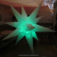 Lighting Inflatable Star for Party, Event and Stage Decoration
