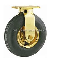 golden pnuematic caster