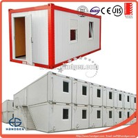 Flatpack container house, lightweight, could resist 12 grade typhoon and 7 grade earthquake