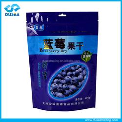 Custom Printed Food / Dried Snack / Vacuum Frozen Food Packaging Plastic Aluminum Foil