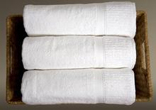 100% Cotton Terry Towels dyed White