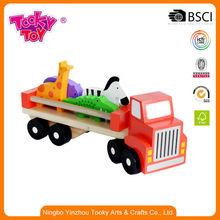 Games Children'S Baby Stroller Wooden Christmas Train
