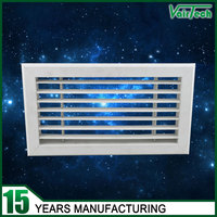 Ventilation PVC wall air conditioning wall air vents supply grills