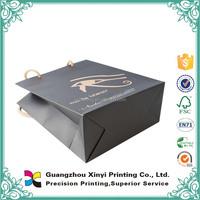 Art paper printing eco-friendly matt chrome paper bag