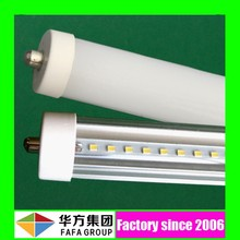Factory direct UL FA8 36w 8 ft single pin led tube 96 inch