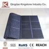 Rubber oil proof mats with hollows floor mats KM105