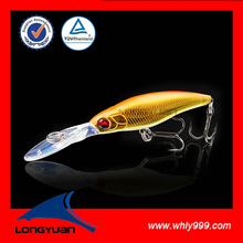 Oval Long Lip Suspending Bait Fish for Bass