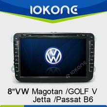8 inch touch screen special car dvd for VolksWagen Jetta/Sagitar/Caddy/Touran/magotan/GOLF V/Passat B6/CC
